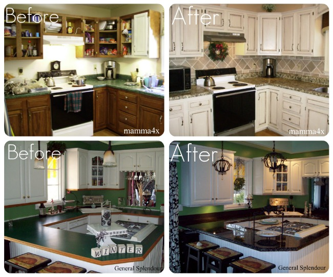 how to update your kitchen counters on a budget