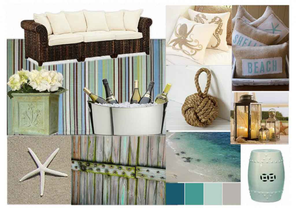Image gallery outdoor beach decor for Outdoor home accessories