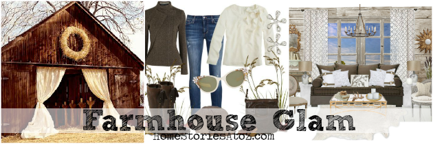 My Favorite Fall Style Can Be Defined As Farmhouse Glamu2013think Jeans With  Brown Leather Jackets And Diamond Earrings. Farmhouse Glam Is Known For  Pairing ...