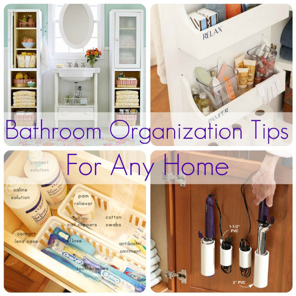 Bathroom Organization Tips For Any Home