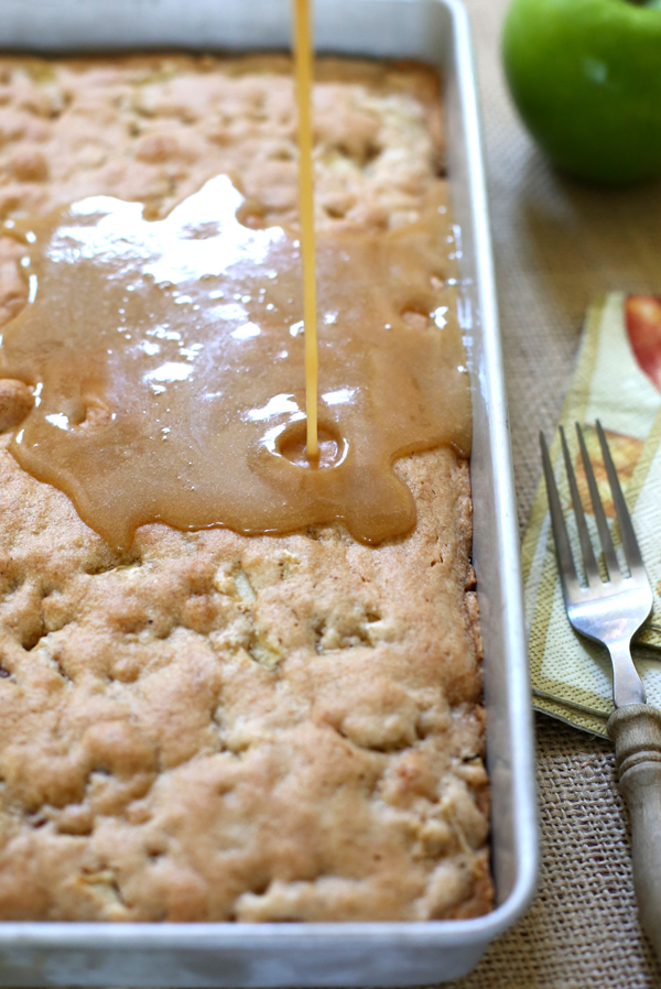 Caramel Apple Granny Cake Recipe