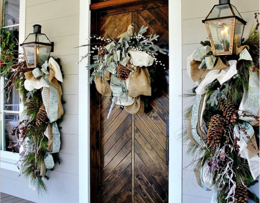 Holiday Front Door Decorating Ideas | Homes.com
