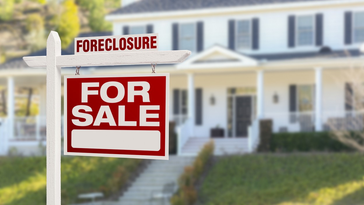 buying a foreclosed foreclosure property home