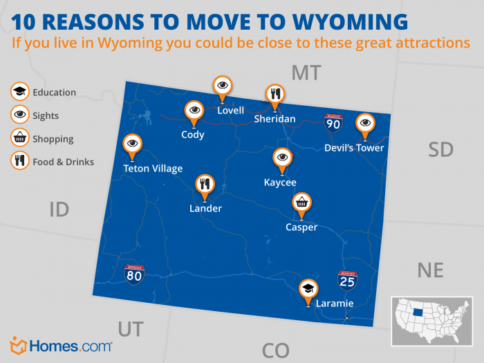 10 Reasons to Move to Wyoming | Homes.com on cities in terrebonne parish, cities missouri map, cities in montana map, cities in fulton county ga, cities in kern county, cities in san diego county map, cities in southern maine, cities in utah map, cities in united states map, cities in la county, cities in northern colorado, cities in mt, cities in north carolina map, cities idaho map, cities in new york map, cities in western kentucky, cities in wisconsin map, cities in nevada map, cities in washington map, cities in new jersey map,