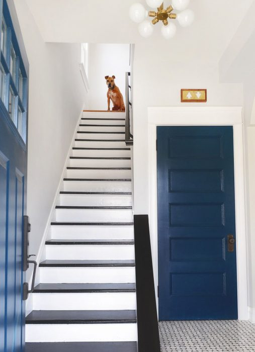 how to install a stair runner before