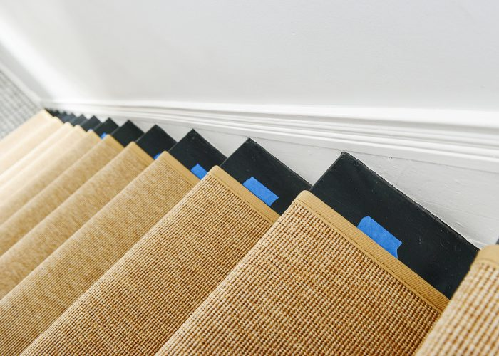 how to install a stair runner marking guides