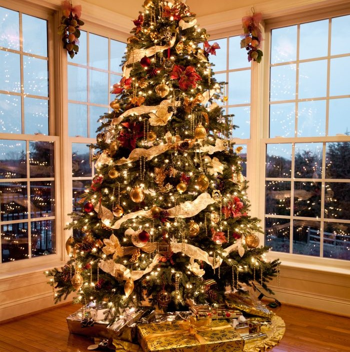 Christmas Tree With Presents.Avoid The Hassle Of Disposing Of Your Christmas Tree With