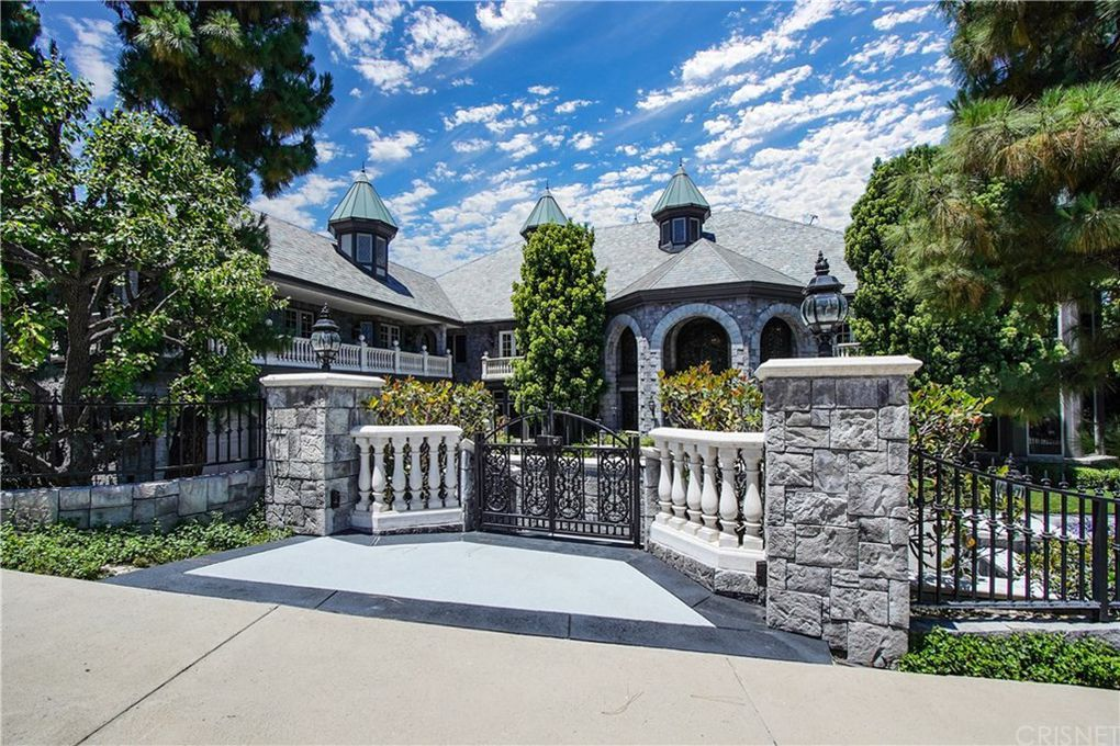 Dr. Dre's Chateau-esque home in California