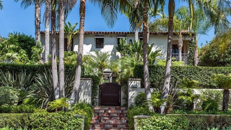 fred savage exterior spanish villa