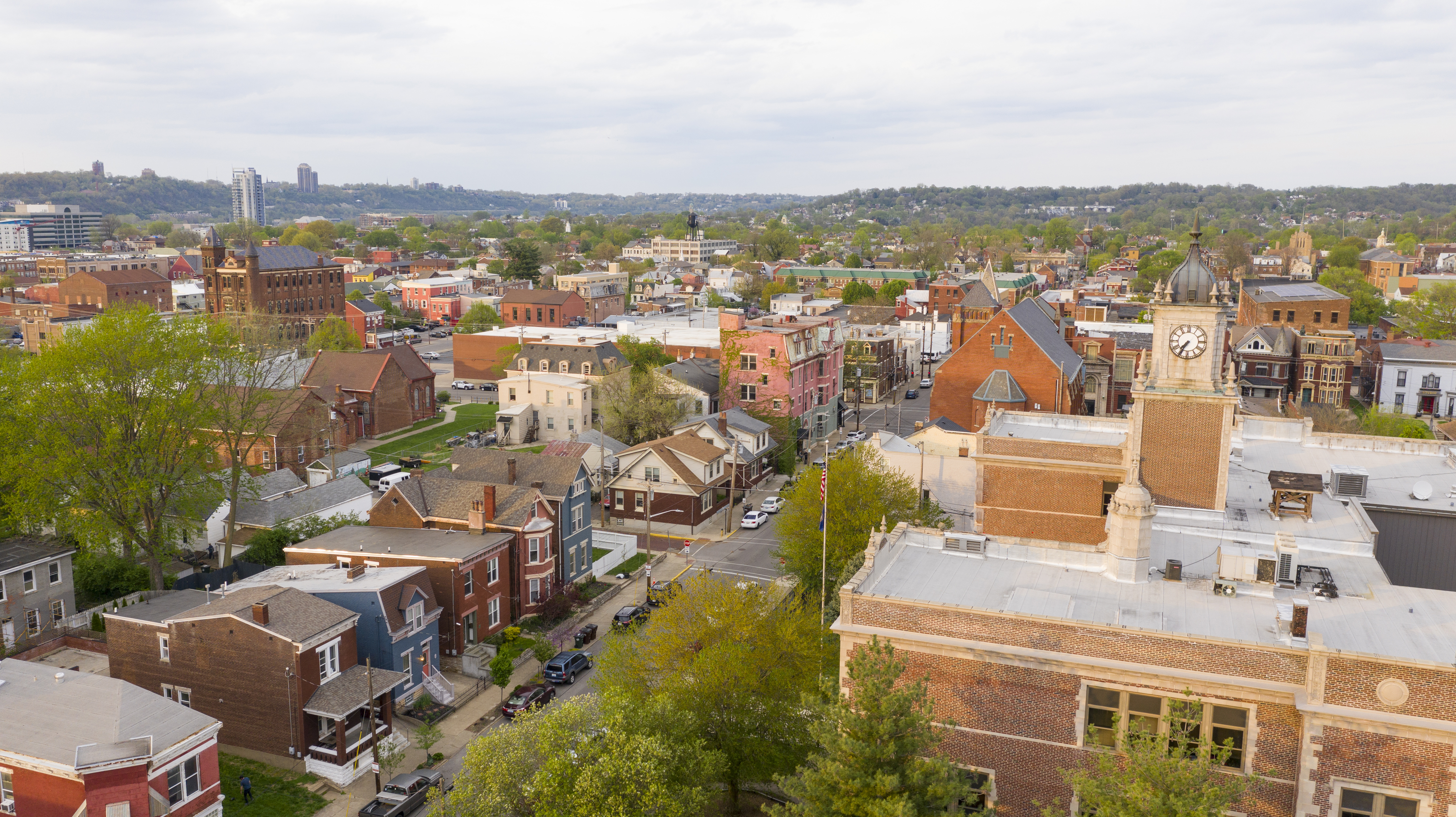 Colorful history and architecture can be found in Newport Kentucky