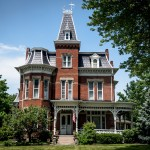victorian home and buildings in ohio