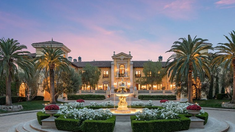 beverly hills expensive mansion california