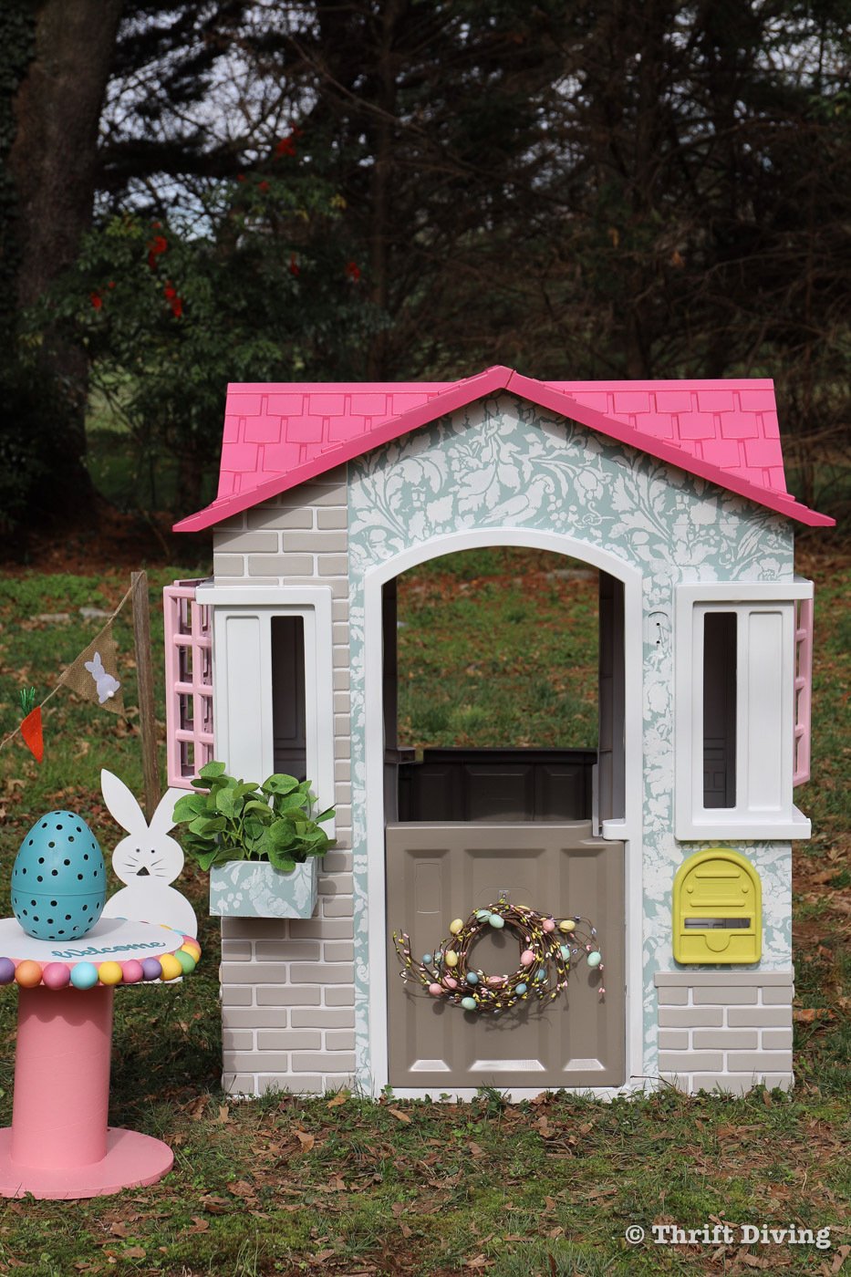 serena appiah thrift diving little tikes cape cottage playhouse diy
