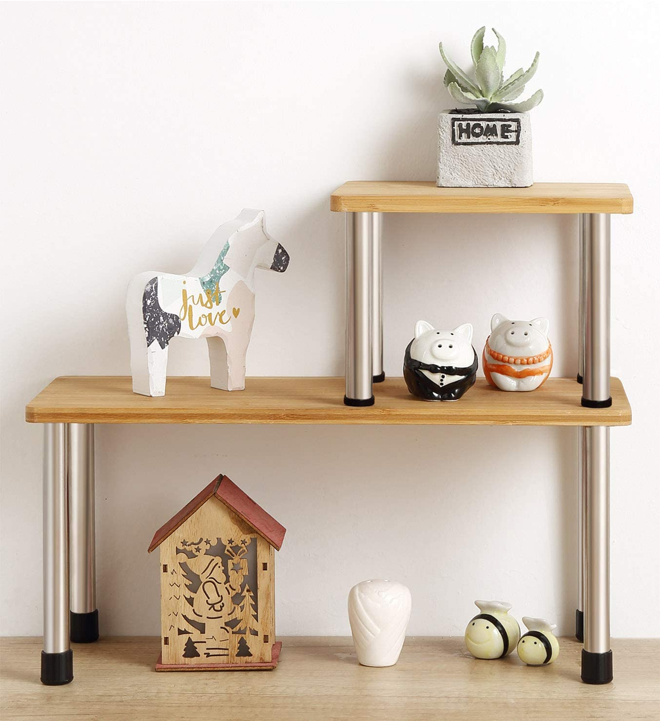 shelving unit for under the sink small space organization