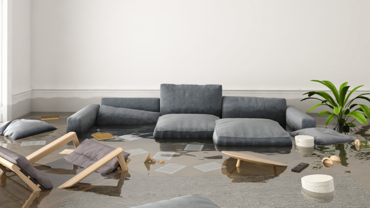 flooded home flood insurance