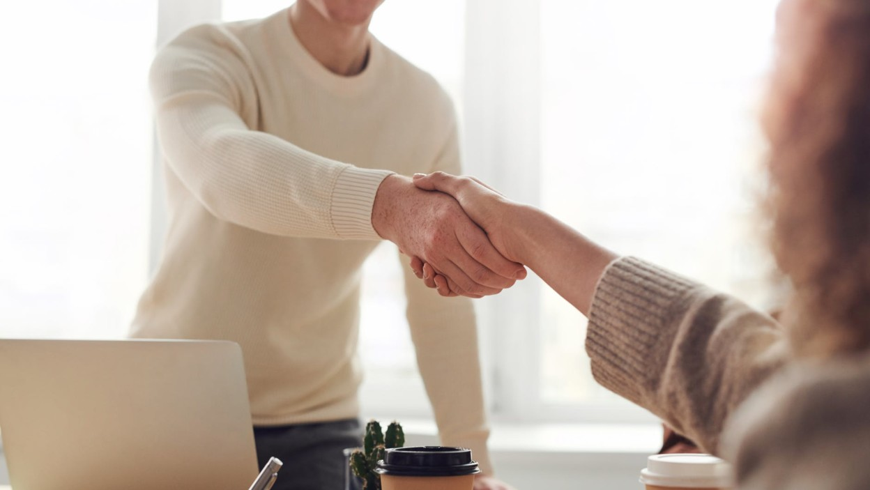 meeting with real estate agent on the multiple listing service