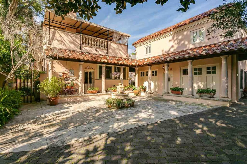 historical home in st. augustine florida
