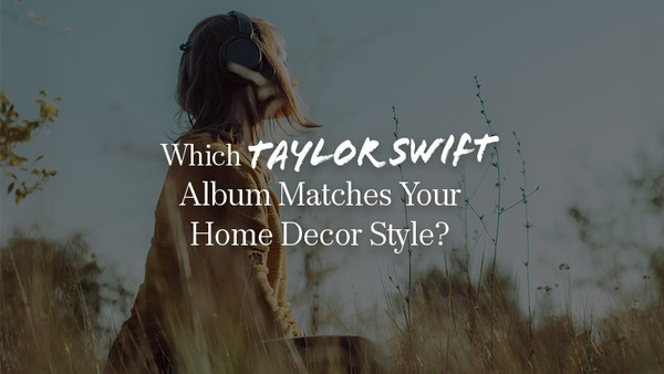 taylor swift home decor quiz